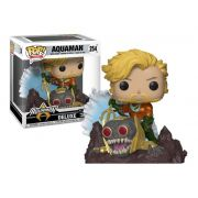 Funko Pop Aquaman DC Coleção Jim Lee De Luxe Exclusivo Gamestop
