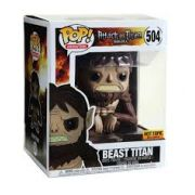 Funko Pop Attack on Titan Beast Titan Hot Topic