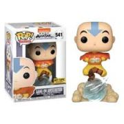 Funko Pop Avatar Aang on Airscooter Exclusivo Hot Topic