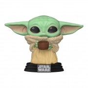 Funko Pop Baby Yoda with cup Star Wars The Child The Mandalorian