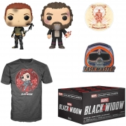Funko Pop Box Marvel Collector Corps Black Widow