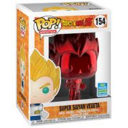 Funko Pop Dragon Ball Z Super Saiyan Vegeta Exclusivo Sdcc 154