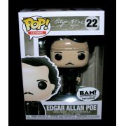 Funko Pop Edgar Allan Poe com Corvo Exclusivo Bam 22