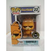 Funko Pop Garfield com Caneca I Hate Mondays Exclusivo Limitado