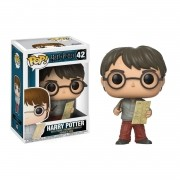 Funko Pop Harry Potter: Harry  com Mapa Maroto #42