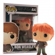 Funko Pop Harry Potter Ron Weasley com Scabbers  #44