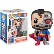 Funko Pop Heroes Cyborg Superman #346 Sdcc 2020