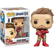 Funko Pop Iron Man com Manopla Endgame Avengers NYCC 2019 Exclusivo