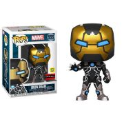 Funko Pop Iron Man Marvel Model 39 555 GITD Exclusivo