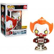 Funko Pop It Pennywise with Skateboard Hot Topic #778