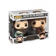 Funko Pop Jon Snow & Ramsay Battle Of Bastards Game Of Thrones