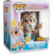 Funko Pop King Triton Pequena Sereia  Rei Tritão Disney Exclusivo