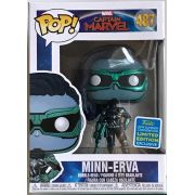 Funko pop Marvel Captain Marvel  MinnErva SDCC 487