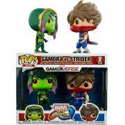 Funko Pop Marvel vs Capcom Strider vs Gamora 2 Pack