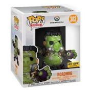 Funko pop Overwatch Roadhog Exclusivo Hot Topic Super Sized