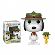 Funko Pop Peanuts Beagle Scout Snoopy with Woodstock #885