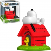 Funko Pop Peanuts Snoopy & Woodstock With Doghouse #956