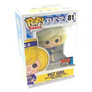 Funko Pop Pez Girl Exclusivo NYCC Convenção Ad Icons