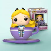 Funko Pop Rides Alice Mad Tea Party Disney Exclusivo Alice na Xícara Maluca