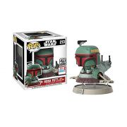Funko Pop Star Wars 213 Boba Fett com Nave Slave One