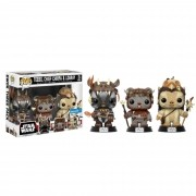 Funko Pop Star Wars  3 Pack Ewok Exclusivo Wallmart