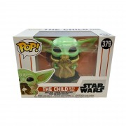 Funko Pop Star Wars Baby Yoda with Frog The Child
