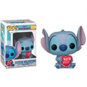 Funko Pop Stitch Valentine Hot Topic Dia dos Namorados Lilo Stitch Disney