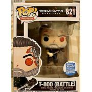 Funko Pop Terminator T-800 Battle FunkoShop Edição Limitada