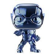 Funko Pop The Flash Cromado Azul Exclusivo Fugitivetoys