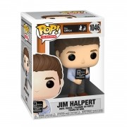 Funko Pop The Office Jim With Nonsense Sign #1046