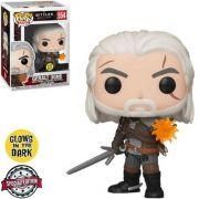 Funko Pop The Witcher Geralt Brilha no Escuro Edição Especial 554