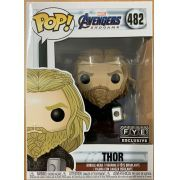 Funko Pop Thor Avengers Endgame 482 FYE Exclusivo Thor 2 martelos