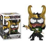 Funko Pop Venomized Loki - Marvel Limitado e Exclusivo