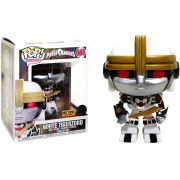 Funko Pop White Tigerzord Exclusivo Hot Topic Power Rangers Super Size
