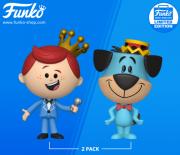 Funko Vinyl Pack com Freddy e Huckleberry Hound Hanna Barbera Limitado 3000 peças