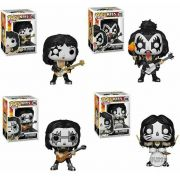Funkos Pop Da Banda Kiss Set Completo 2019 Pop Rocks