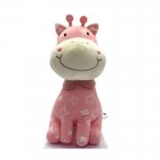 Girafa de Pelucia Metoo para Bebês Rosa ou Lilás