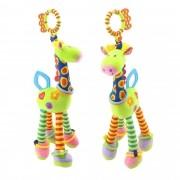 Girafa Mordedor de Pelucia Móbile Brinquedo para bebê