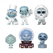 Haunted Mansion Funko Mini Mystery com 6 personagens