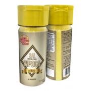 Kit Com 2 Sal Micronizado Para Pipoca 1 Amarelo E 1 Branco