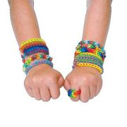 Kit infantil montagem de pulseiras Funloooops 3000 elásticos