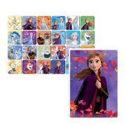 Kit Jogos Disney Frozen Quebra-cabeças Infantil + Memória