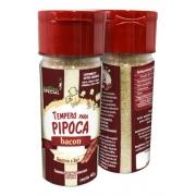 Kit Tempero Para Pipoca C/ 1 Sabor Bacon E 1 Sabor Churrasco