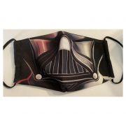 Mascaras de Tecido Lavavel Personalizada Dupla Camada de Proteção Darth Vader Star Wars