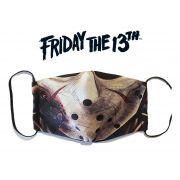 Mascaras de Tecido Lavavel Personalizada Dupla Camada de Proteção Jason Sexta Feira 13