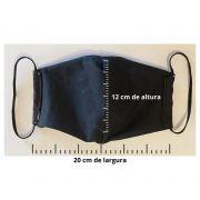 Mascaras de Tecido Lavavel Personalizada Dupla Camada de Proteção V de Vingança
