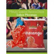 Mistura Para Pipoca Gourmet Doce Sabor Morango - 1 kilo