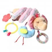 Móbile Elefanta Espiral Para Carrinho de Bebê Cadeira de Carro