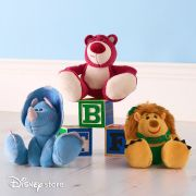 Pelucia Disney Toy Story Conjunto com 3 - Lotso Trixie e Mr. Pricklepants Tiny Big Feet Parks Disney