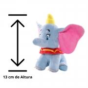 Pelúcia Dumbo Elefante Chaveiro para Mochila e Bolsa